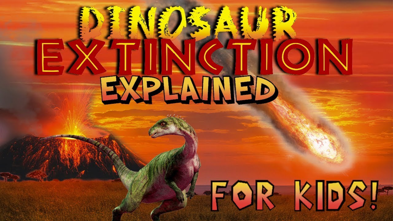 Dinosaur Extinction Explained for Kids! - YouTube [ 720 x 1280 Pixel ]