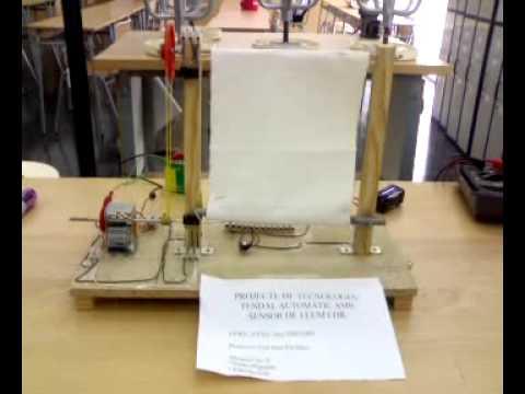 toldo automatico con sensor de luz