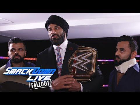 Jinder Mahal reacts to Cena vs. Nakamura: SmackDown LIVE Fallout, Aug. 1, 2017