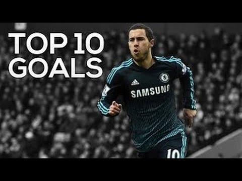 TOP 10 goals ▬ Eden Hazard