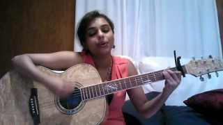 Unni Vavavo Guitar COVER by Bavitha (OST Malayalam Sandhawanam - original by K.S Chitra)