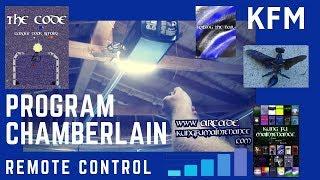how to program chamberlain universal remote control smart code clicker for garage door video