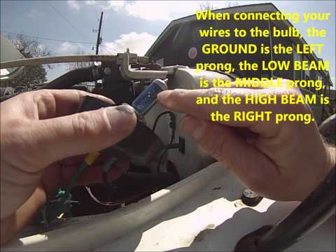 part 2 - jeep wrangler yj headlight diy relay wiring harness upgrade -  testing relays and wires - youtube