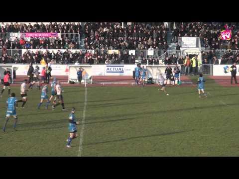 Rugby Fédérale 1 USRP vs RCAV