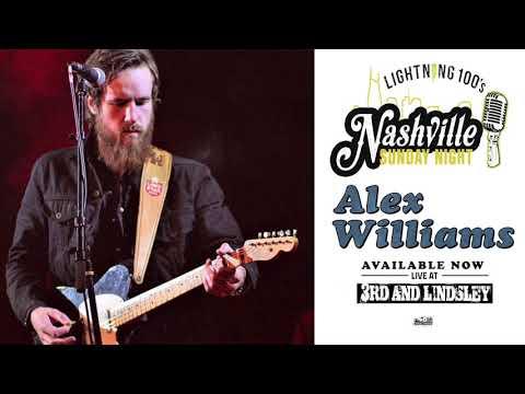 Alex Williams live concert Nashville Sunday Night on 1-28-18