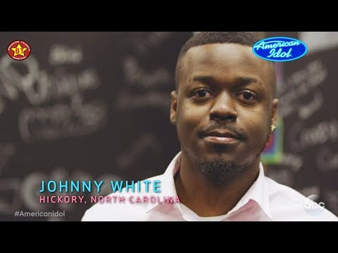 JOHNNY WHITE was in foster care & music is his therapy  - Follow His Journey on American Idol ABC