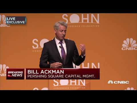 Bill Ackman: recommends Howard Hughes Corp. at Sohn