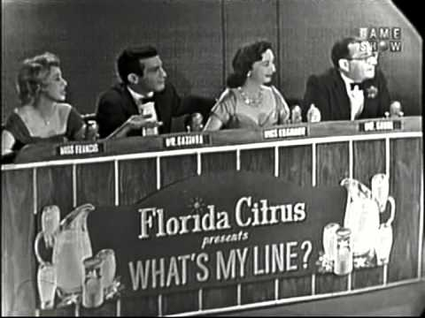 Celebrity Guests on 'What's My Line?' Quiz - Sporcle