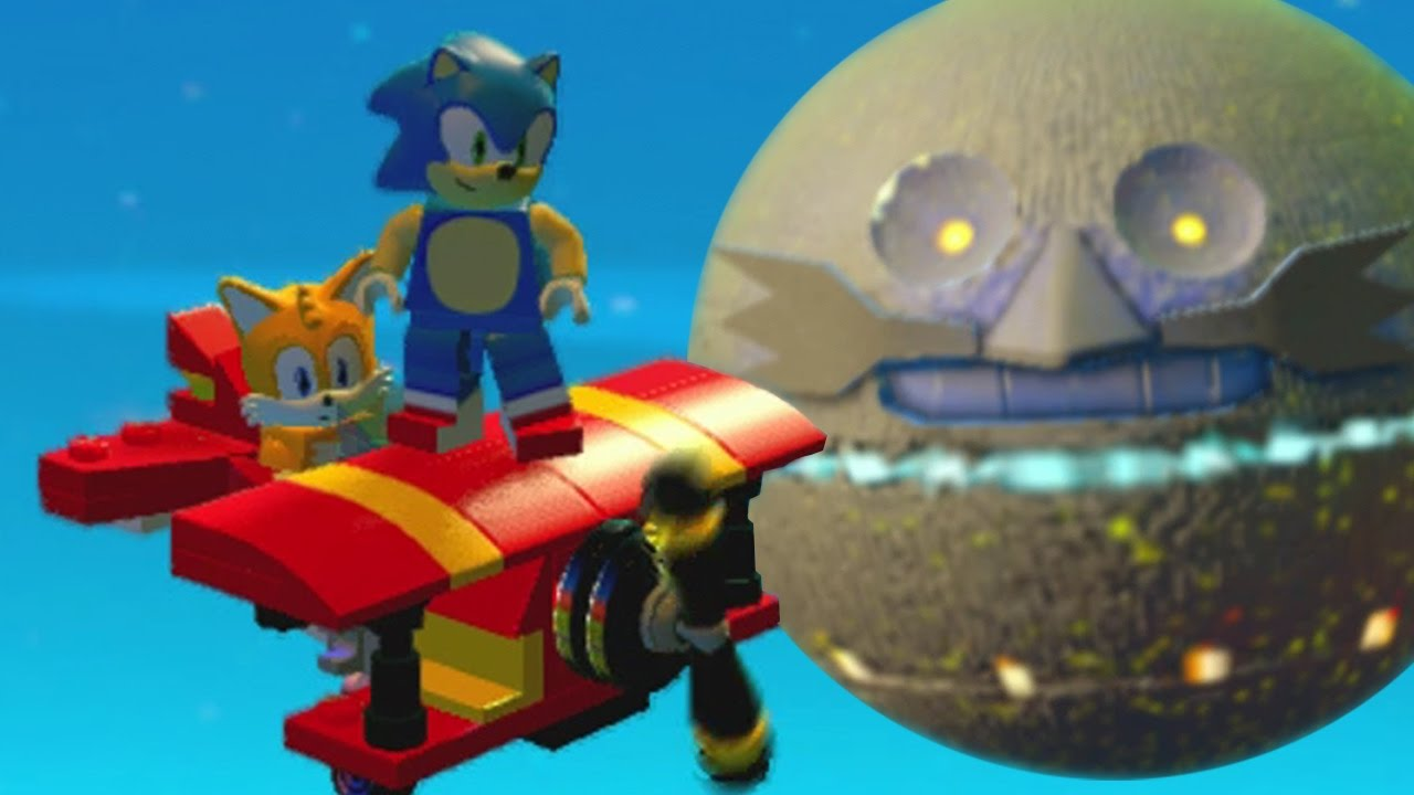 sonic lego dimensions metal sonic tails and the tornado part 2