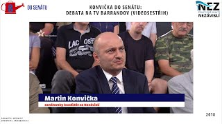 KONVIČKA do SENÁTU: Debata na TV Barrandov
