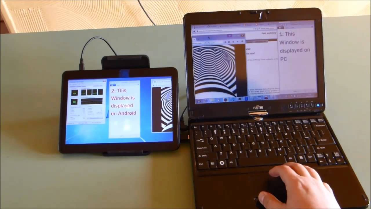 Android tablet used as a second monitor in windows longer version youtube - Six uses old tablet ...