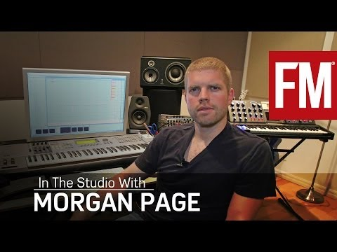 Morgan Page In The Studio With Future Music