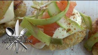 QUINOA CAKES (Healthy Recipe) - Nickos Kitchen