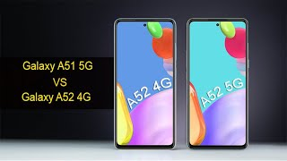 Galaxy A52 5G Vs Galaxy A52 4G Full Comparison |
