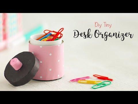 DIY Tiny Desk Organizer | Craft Ideas | Ventunoart