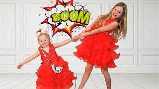 2 Sisters & same Dress for the Princess  -  شقيقتان ونفس الفستان للأميرة
