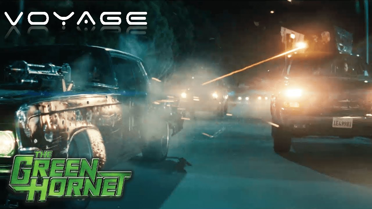 Download Huge Car Chase Scene | The Green Hornet | Voyage