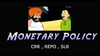 CRR , REPO , Rev REPO , SLR Monitory policy | IBPS PO , Clerk , SBI exams