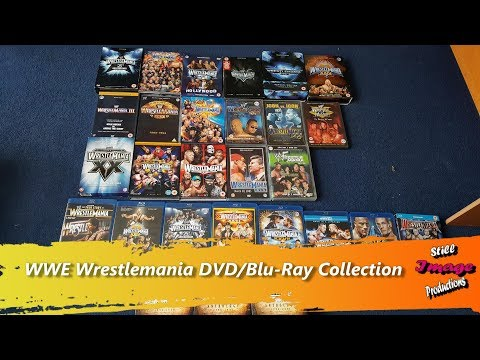 wwe wrestlemania dvd zavvi