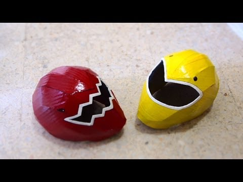#57: Power Rangers Helmet DIY Part 2 - Visor, Paint & Details | How To | Dali DIY