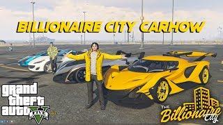 SUPERCARS CARSHOW sa GTA 5!! (CASH PRIZE) | Billionaire City RP