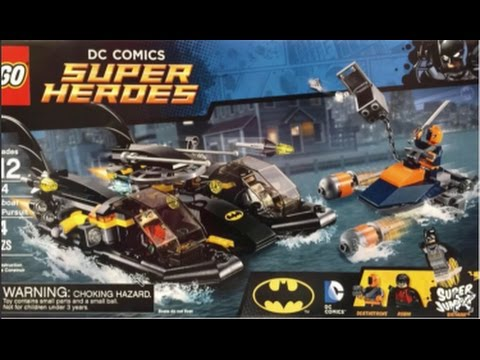 2015 Summer Dc Lego Sets: DeathStroke and Teen Titans