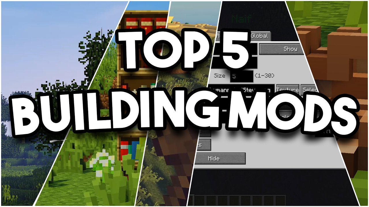 MINECRAFT  Top 12 Building Mods