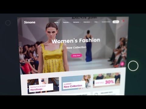 Joomla eCommerce / Joomla Shopping Cart - Free Template - Simone