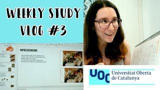 Productividad, consejos y prácticas · WEEKLY STUDY VLOG #3 | Christine Hug