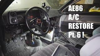 AE86 A/C RESTORATION   Part 6 - YouTube   Ae86 Ac Wiring      YouTube