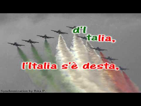 Karaoke - Italian National Anthem - Inno Nazionale d'Italia di Goffredo Mameli