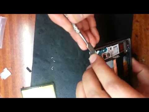 Sony Xperia Z2 D6503 меняем дисплейный модуль