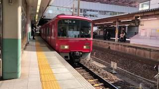 名鉄3700系3702F 普通弥富行き 金山駅発車