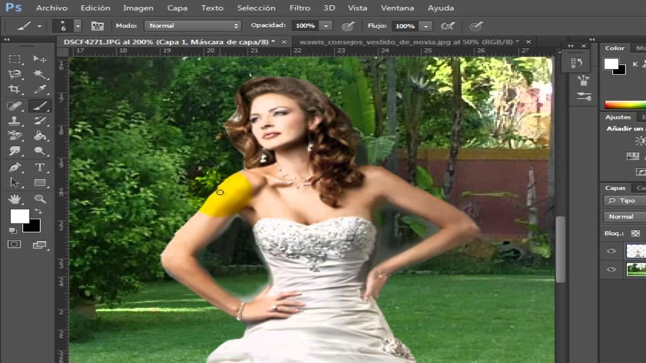 como adelgazar a alguien en photoshop cs6