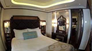 Disney Fantasy Cruise Stateroom And Suite Tour Roy O Disney Suite