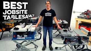 we choose the best 2018 jobsite table saw bosch dewalt makita sawstop skilsaw