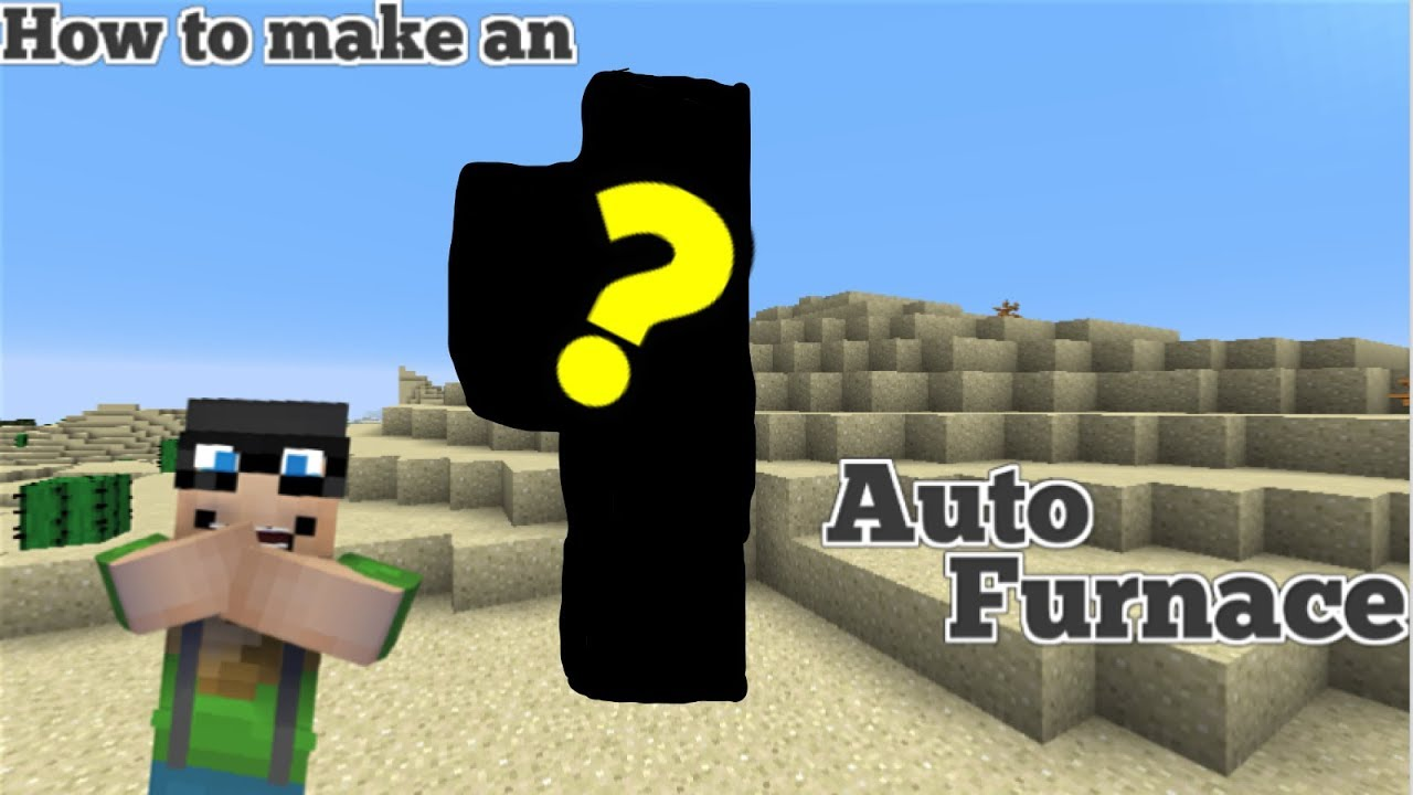 "Minecraft Tutorial l""How to make an Automatic Furnace!""l"