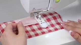 [BrotherSupportSewing] Bar tack stitching / かんどめをする