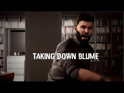 WATCH DOGS 2 TAKING DOWN BLUME