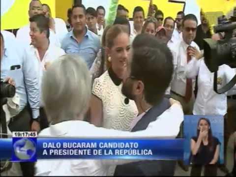 Dalo Bucaram candidato a Presidente de la República