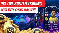 FIFA 20: Durch Trading mit UCL LIVE Karten viele Coins machen! ROAD TO THE FINAL INVESTMENTS