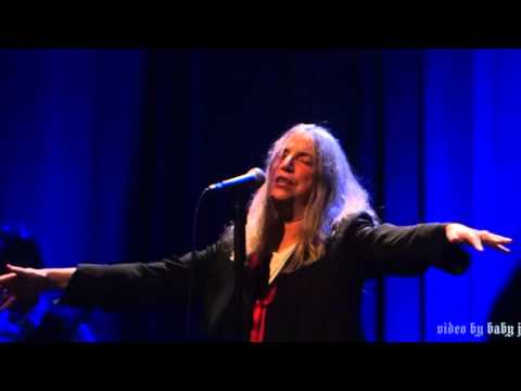 Patti Smith-BIRDLAND-Live @ The Fillmore, San Francisco, CA, December 30, 2015-69th Birthday-Horses
