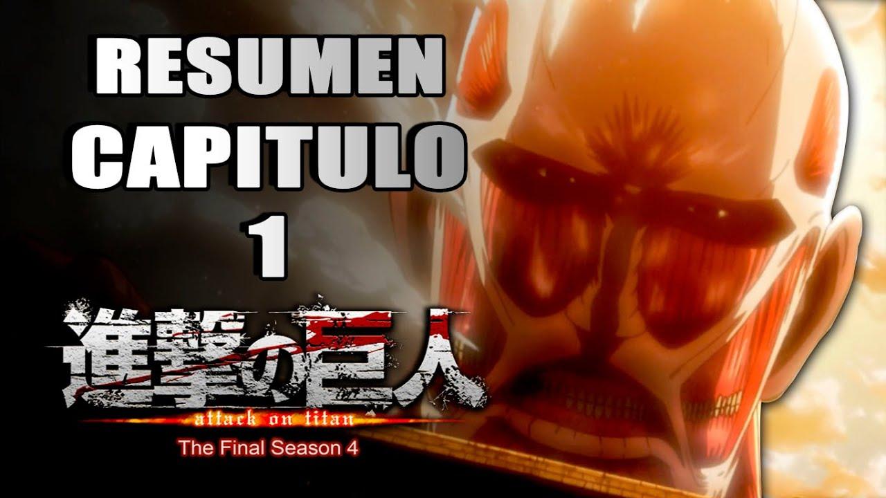 Resumen: Shingeki no Kyojin   Capitulo 1.