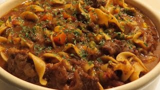Crock   Pot   Beef   Bone   Pasta   &   Veggie   Soup