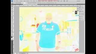 Tutorial Photoshop 3 - Trasformazione Foto in Fumetto (o Cartoon)