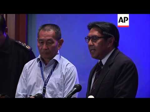 AP cover authorities say Malaysian Airways aircraft remains missing