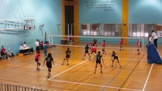 2017 B Div National Quarter Final Girls NAS vs CCHY 2-0 1st set