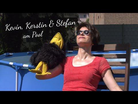 Kevin, Kerstin & Stefan am Pool | Kindergottesdienst Taufe