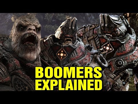 BOOMERS EXPLAINED - WHAT ARE BOOMERS IN GEARS OF WAR? LORE AND HISTORY EXPLORED
