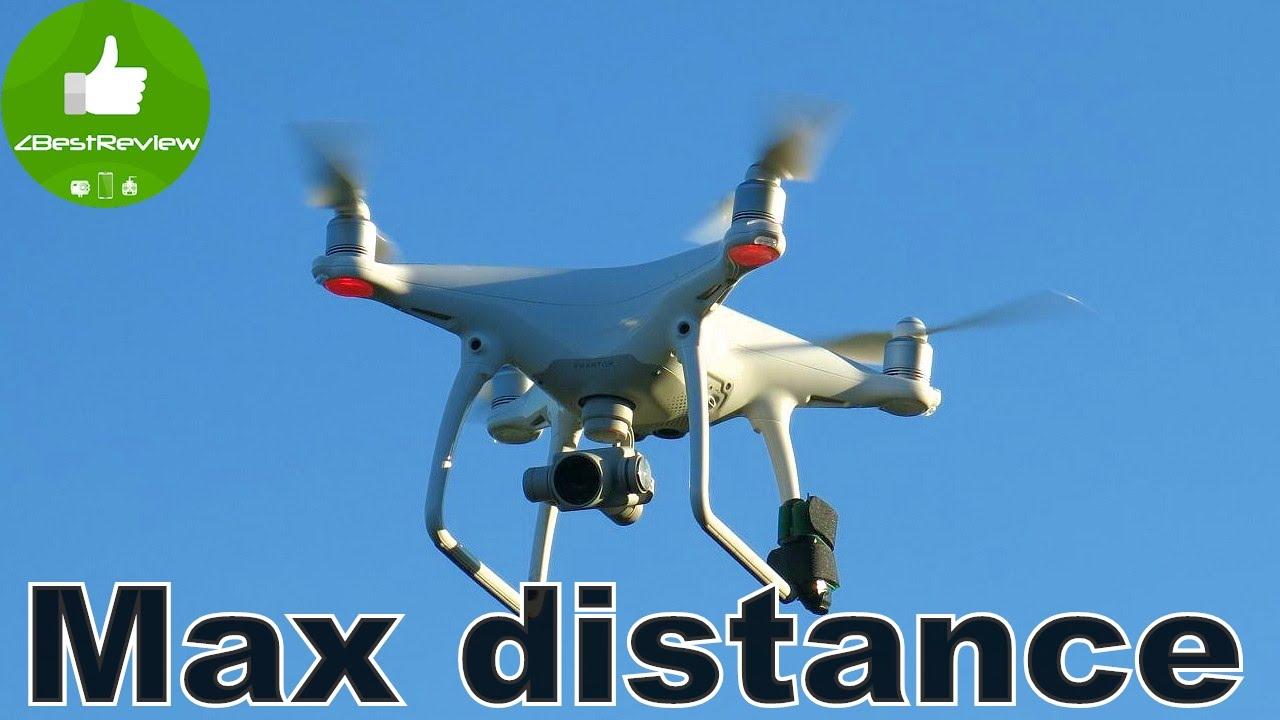 ✓ DJI Phantom 4 Тест Дальности в стоке! Стабильность в Ветер .